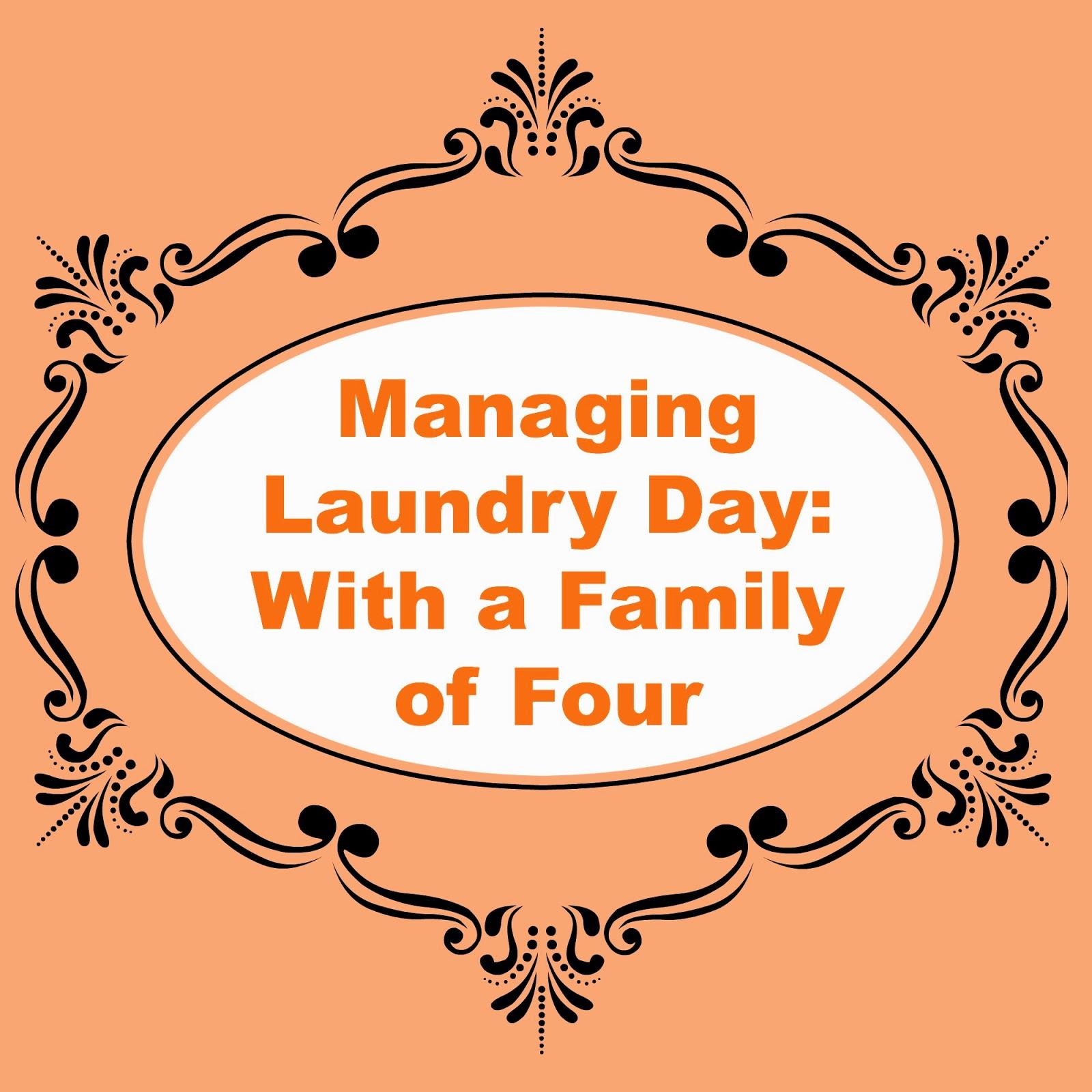 How I Manage Laundry!