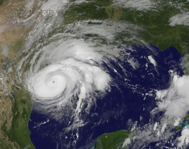 Hurricane Harvey seen by NOAA's GOES East satellite