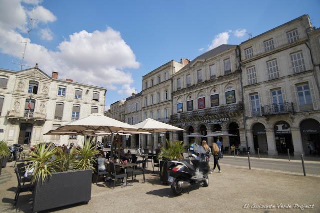 Casco Histórico de La Rochelle por El Guisante Verde Project