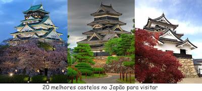 Os melhores castelos para visitar no Japão
