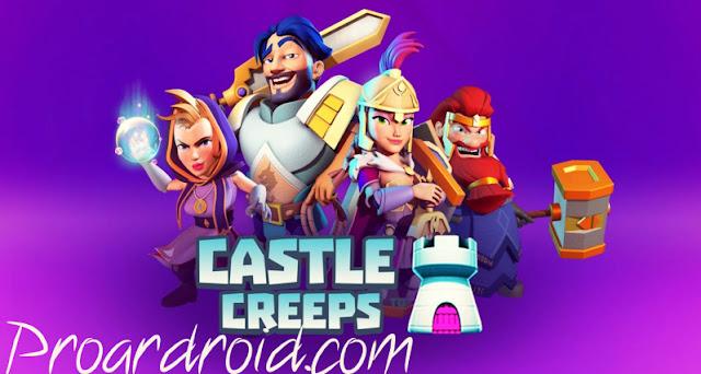 لعبة Castle Creeps TD v1.48.0 مهكرة للاندرويد (اخر اصدار) logo