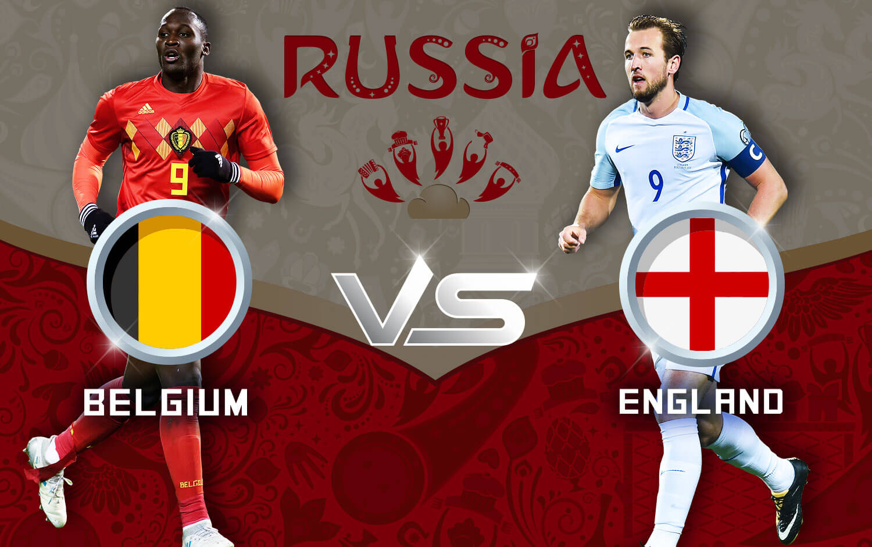 Belgium vs England - FIFA World Cup 2018 third place play ...