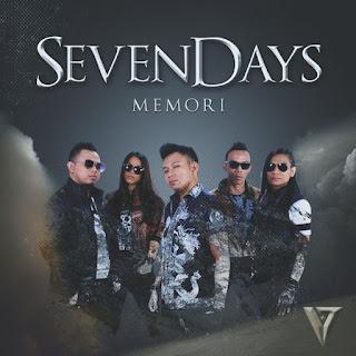 Lirik Lagu SevenDays - Memori