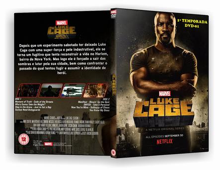 Luke Cage 1ª Temporada Completa – 4 DISCOS – AUTORADO