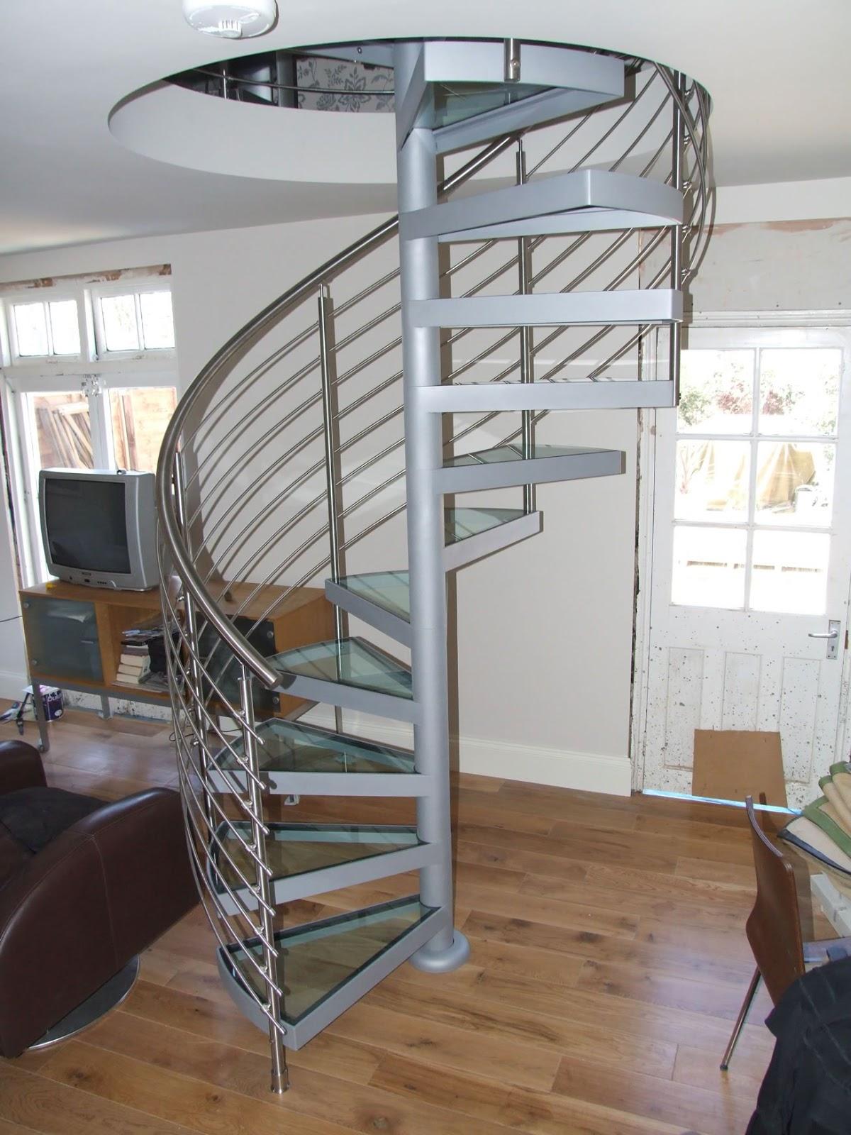 The Arquitectura Y Diseno Disenos De Escaleras En Espiral - Escaleras-en-espiral