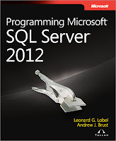 книга «Разработка приложений на основе Microsoft SQL Server 2012»