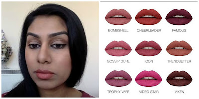 Huda beauty lip contour in Trendsetter using your own lipsticks