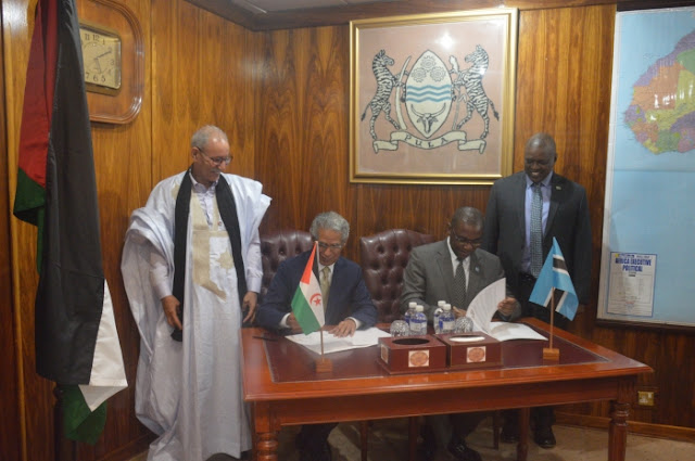 La RASD y Botswana anuncian establecimiento de relaciones diplomáticas a nivel de embajadores