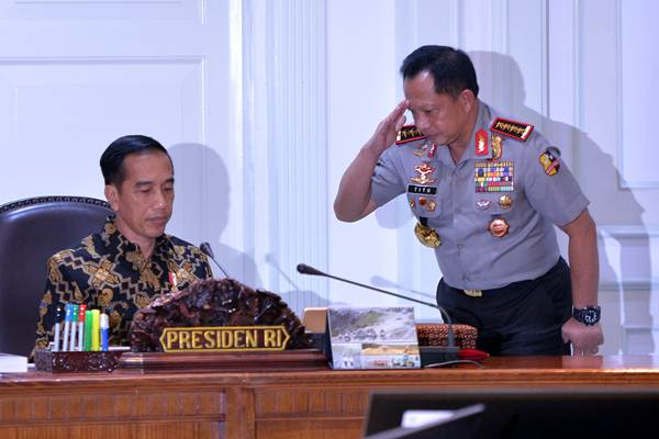 Penegakan Hukum Terkesan Hanya Untuk Lawan Politik Presiden Joko Widodo