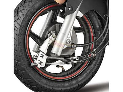 Hero Dash 110cc Scooter front wheel
