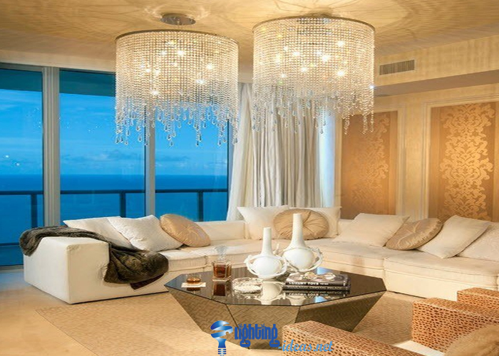 Chandeliers Lighting Fixture Gold Chandelier For Living Room