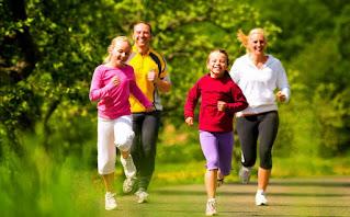 latihan dan olahraga dapat  menurunkan kolesterol