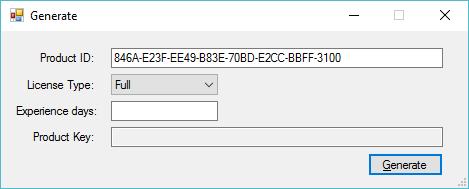 c# get windows license key