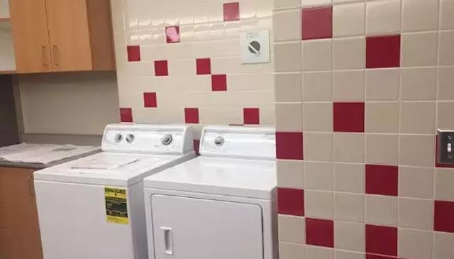 Escola pública inaugura espaço com máquinas de lavar e chuveiros para alunos em situação de rua
