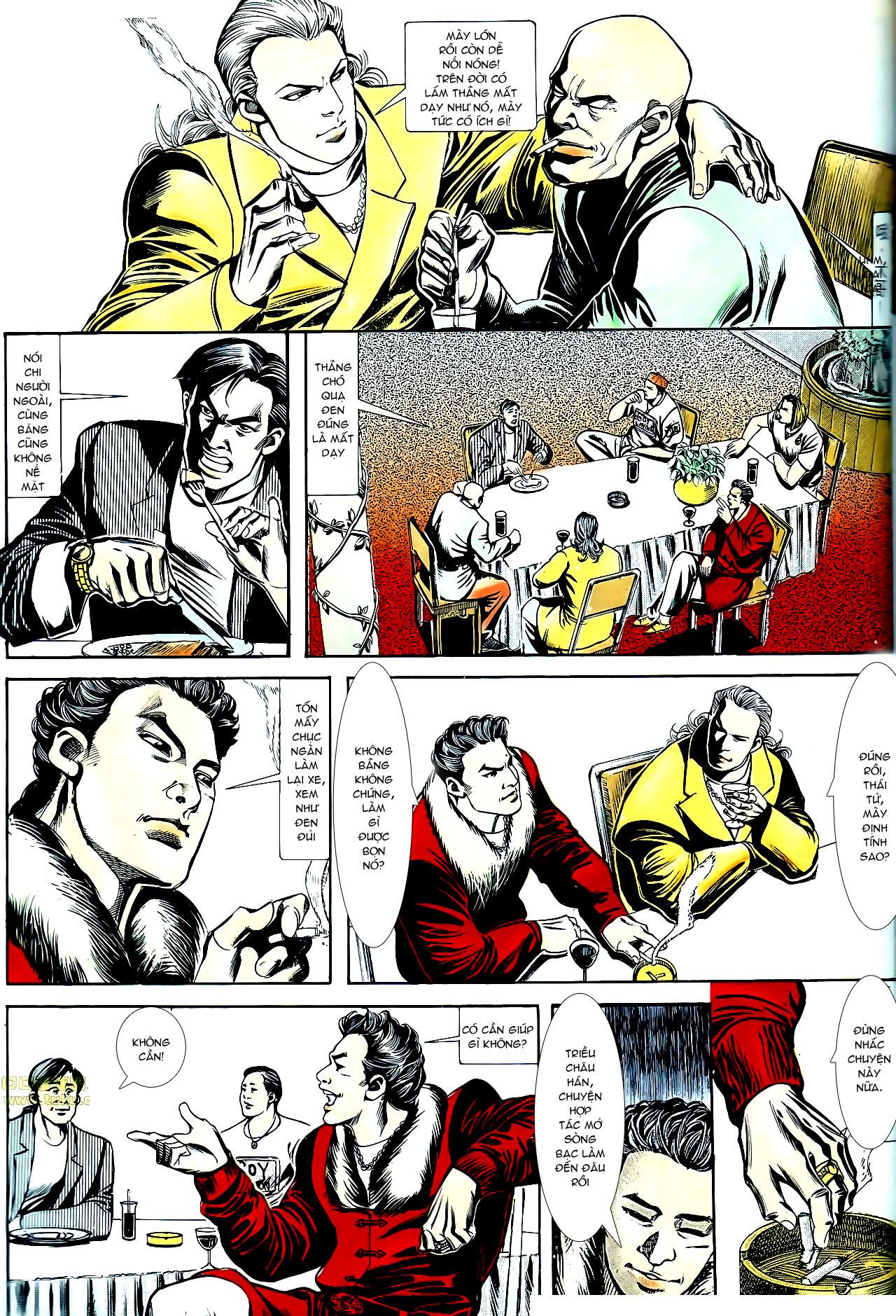 Người Trong Giang Hồ chapter 153: xích mích trang 20