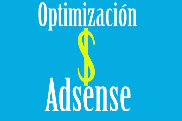 Pestaña optimizacion adsense