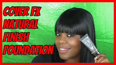 Cover FX Natural Finish Foundation Review| PrettyPRChickTV