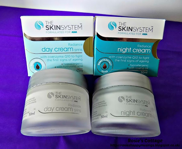 Skin Care System - Day & Night Cream
