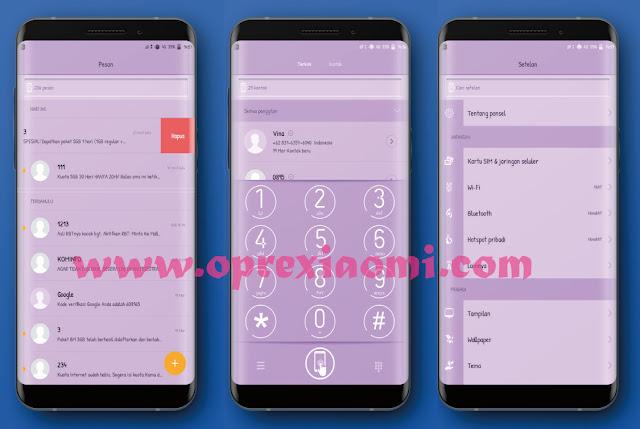 Download Tema S8 Purple theme Mtz