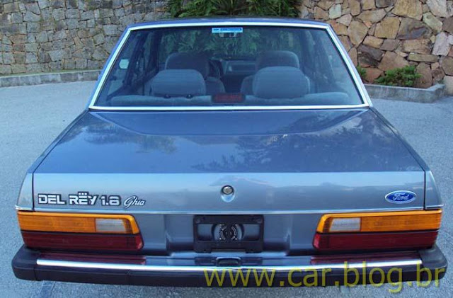 Ford Del Rey Ghia 1.8 1989 - traseira