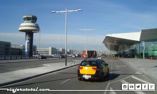 Aeropuerto de El Prat en Barcelona BCN