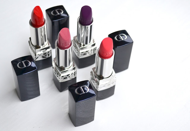 Dior Rouge Dior Swatches Review