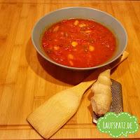 Würzige Tomatensuppe Erkältung vegan lecker schnell