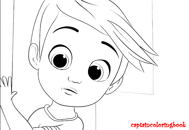 The Boss Baby Coloring Page Download Coloring Page