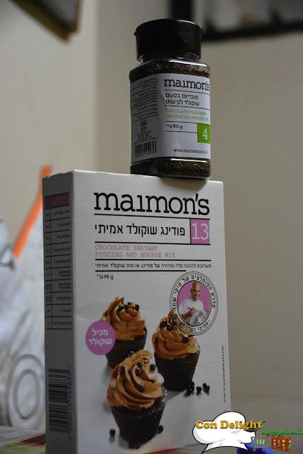 פודינג שוקולד אמיתי מיימונ'ס Maimon's chocolate pudding