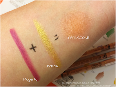 colori primari colori secondari MAKEUP recensione review Miss trucco matite Your Color eyes