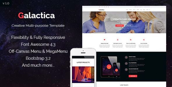 Best Creative Multipurpose Joomla Template