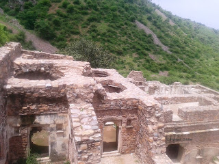 Roof of Bhangarh Fort
