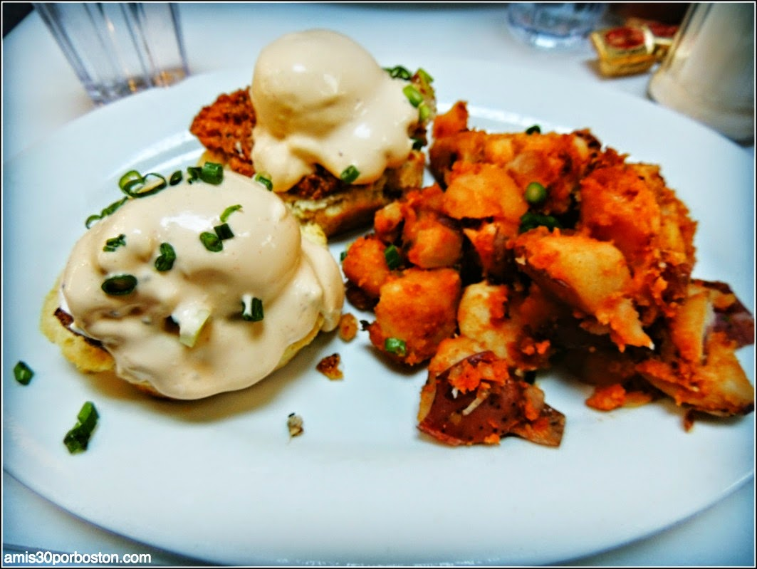 Brenda´s French Soul Food: Our Eggs Benedict
