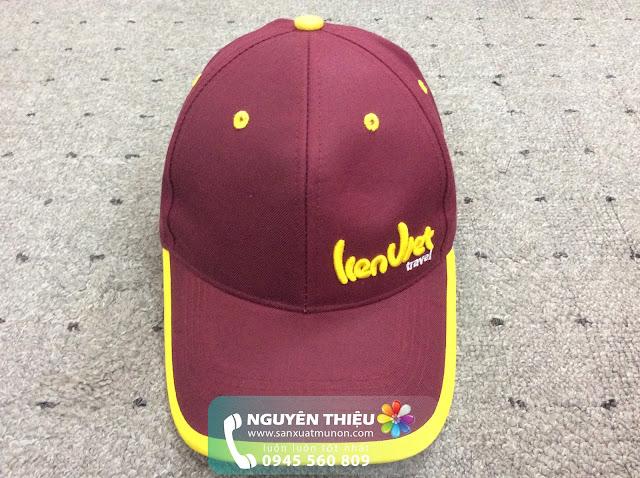 Xưởng may nón quảng cáo, xưởng may nón du lịch, nón du lịch giá rẻ