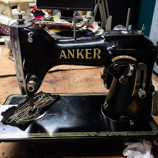 German made Anker RZ Sewing Machine