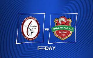 Al Wahda vs Shabab Al Ahli Club