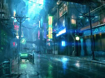Idea para aventura tipo ciberpunk - Fantasmas encriptados