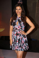 Kyra Dutta in a Deep neck Small Dress at Shamanthakamani pre release function ~  Exclusive 117.JPG