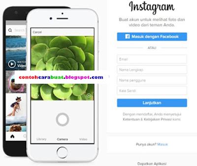Buat Akun Instagram Lewat Google | Daftar Instagram di Web