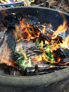 beach campfire San Elijo