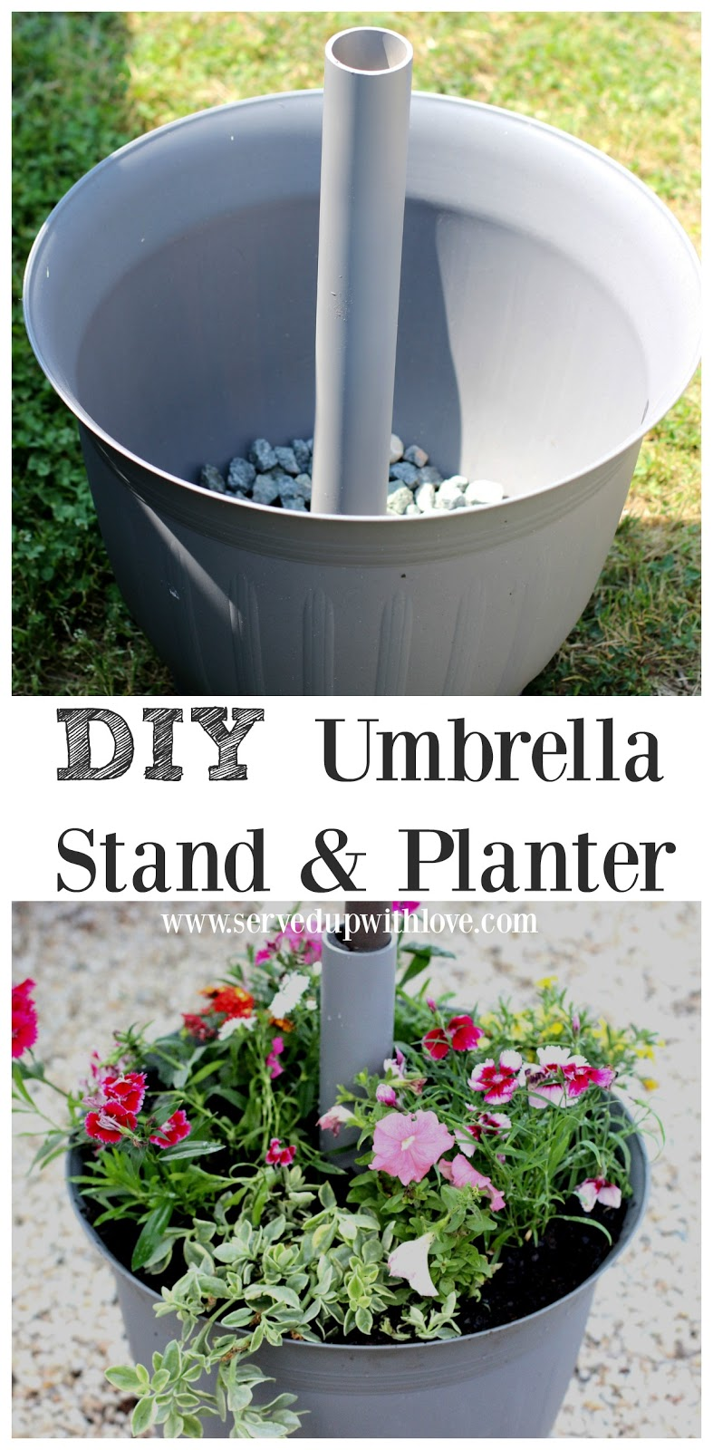 Umbrella Flower Pot