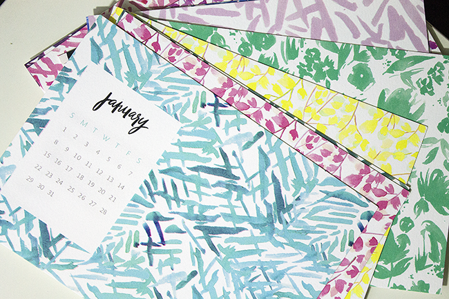 May Designs Desk Calendar & Notecard in POPSUGAR Must Have Box