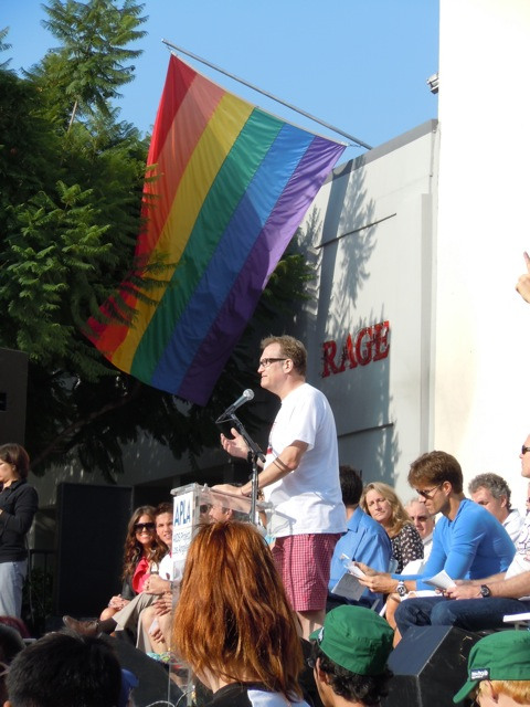 Drew Carey AIDS Walk LA 2011