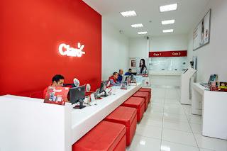 Oficinas y tiendas Claro en Medellín