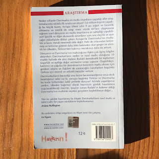 Danimarkali Gibi Mutlu - Dunyanin En Mutlu Insanlari Olmalarinin On Nedeni (Kitap) Arka Kapak