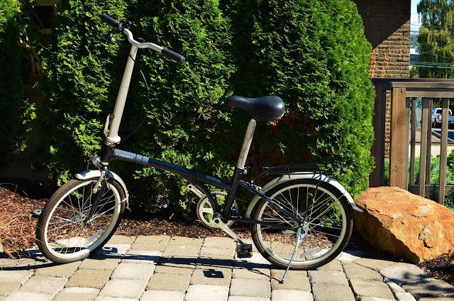 Dahon boardwalk folding bike