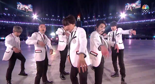 PyeongChang 2018 Winter Olympics Closing Ceremony XO boy band