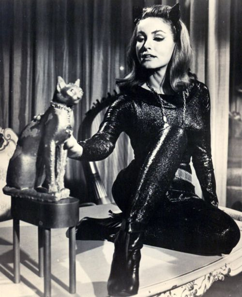 Catwoman Eartha Kitt Julie Newmar The Cathode Ray Missio...