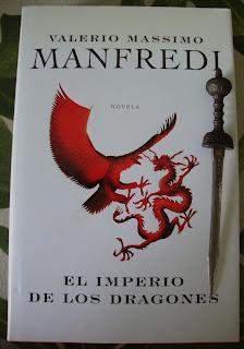 Portada del libro El imperio de los dragones, de Valerio Massimo Manfredi