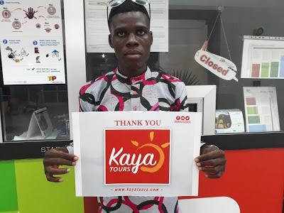 Kaya Tours Ghana Jets Cab Driver To Sao Tome & Príncipe Island Free Of Charge